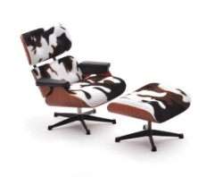 Lounge Chair Charles & Ray Eames+rahi